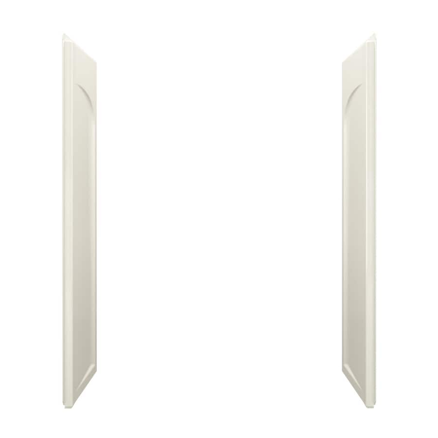 Sterling Ensemble Biscuit Shower Wall Surround Side Wall Panel Kit (Common: 0.25-in x 32-in; Actual: 71.5-in x 0.25-in x 32-in)