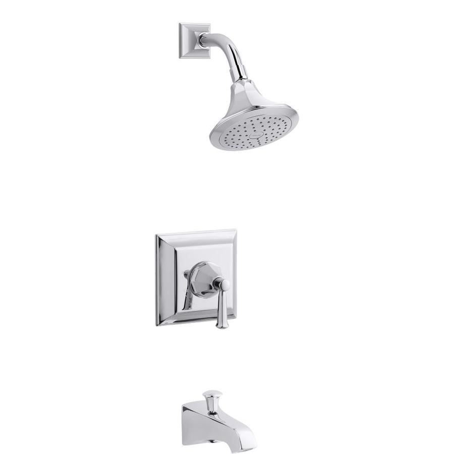 KOHLER Memoirs Polished Chrome 1 Handle Bathtub And Shower Faucet