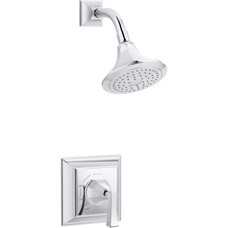 Shop KOHLER Memoirs Polished Chrome 1-Handle Shower Faucet at Lowes.com