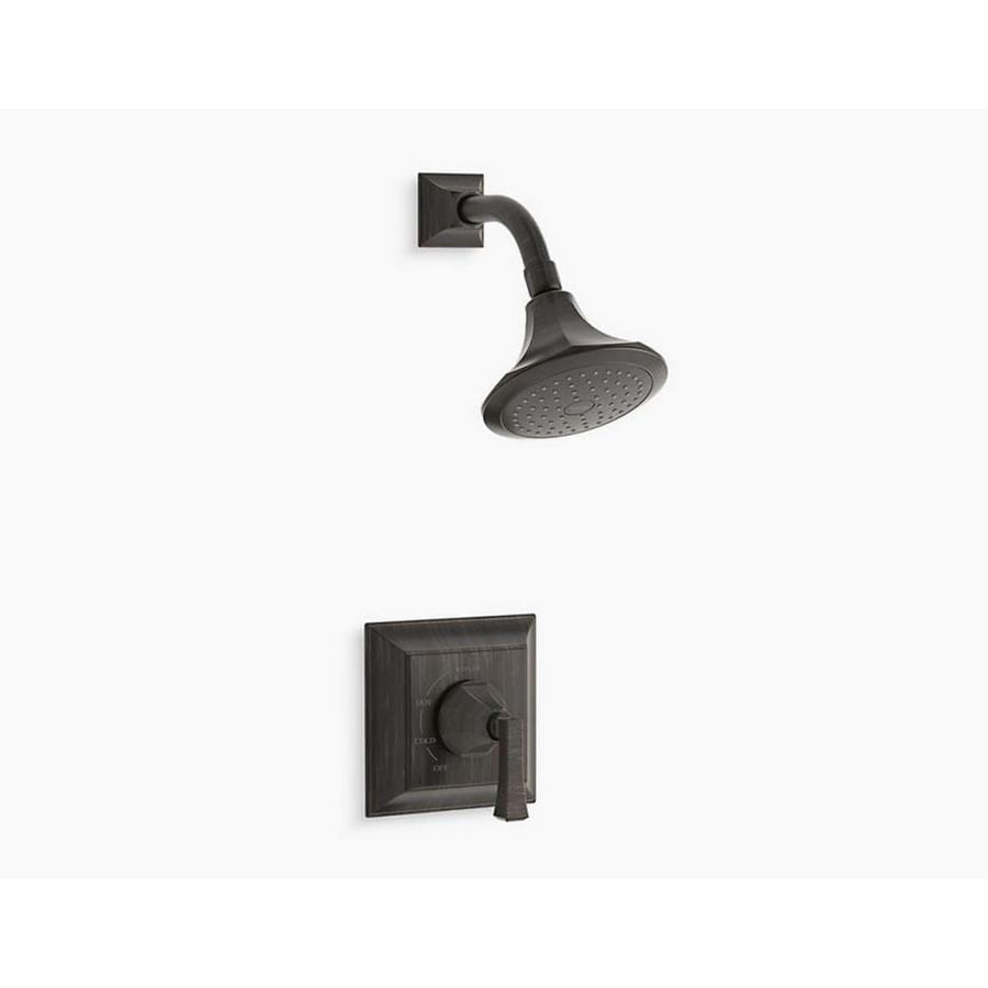 Shop KOHLER Memoirs Oil-Rubbed Bronze 1-Handle Shower Faucet at ...
