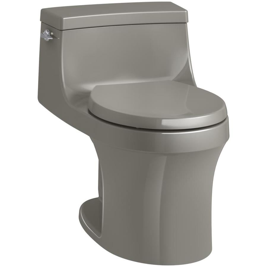 KOHLER San Souci Cashmere 1.28-GPF (4.85-LPF) 12 Rough-In WaterSense Round 1-Piece Standard Height Toilet