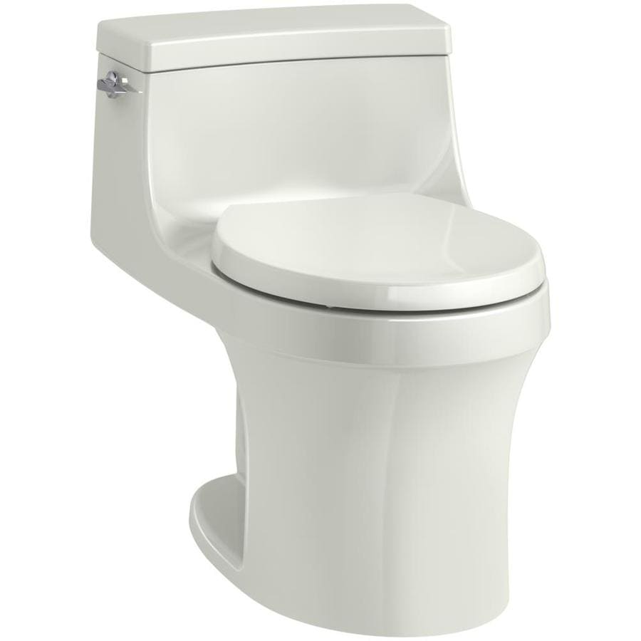 KOHLER San souci Dune WaterSense Labeled  Round Standard Height 1-piece Toilet 12-in Rough-In Size