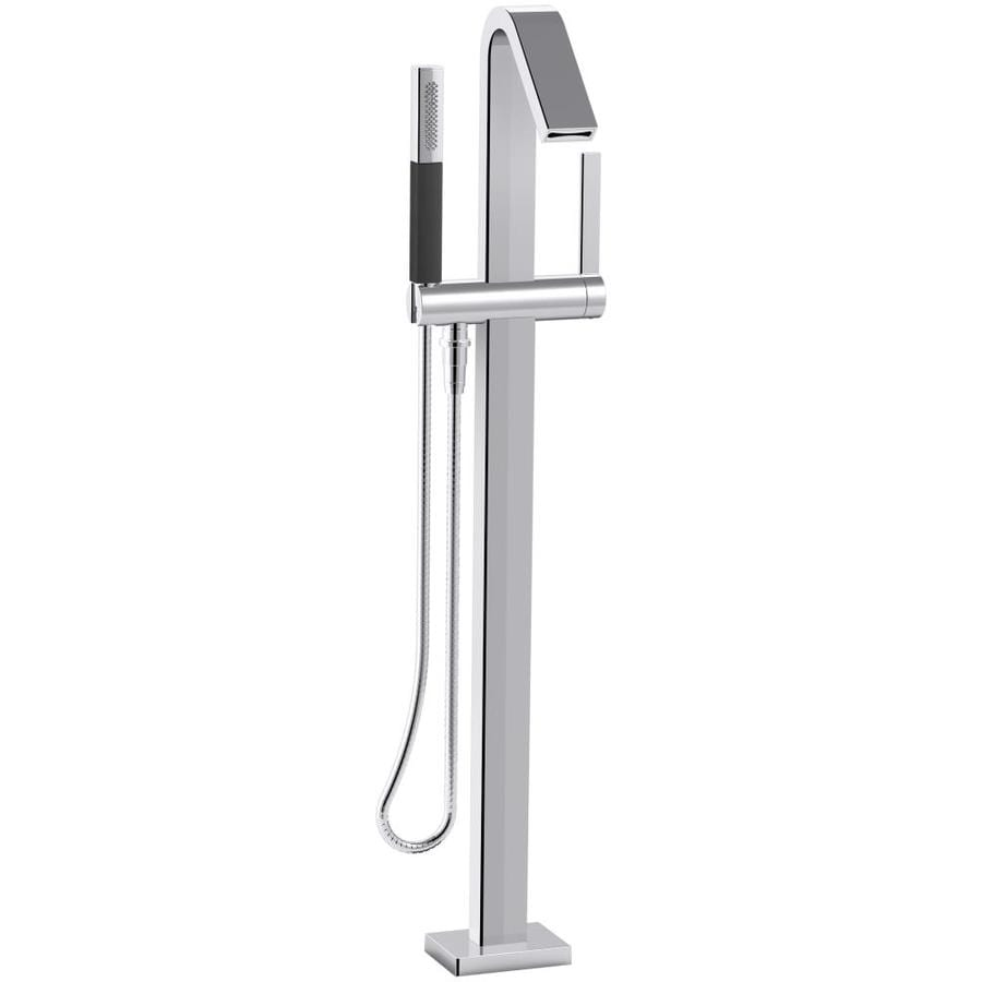 KOHLER Loure Polished Chrome 1-handle Fixed Freestanding Bathtub Faucet