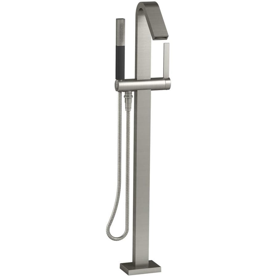 KOHLER Loure Vibrant Brushed Nickel 1-handle Fixed Freestanding Bathtub Faucet