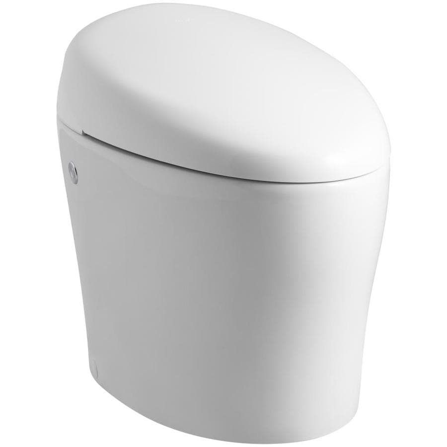 KOHLER Karing White 1.28-GPF (4.85-LPF) 12 Rough-In WaterSense Elongated 1-Piece Standard Height Toilet