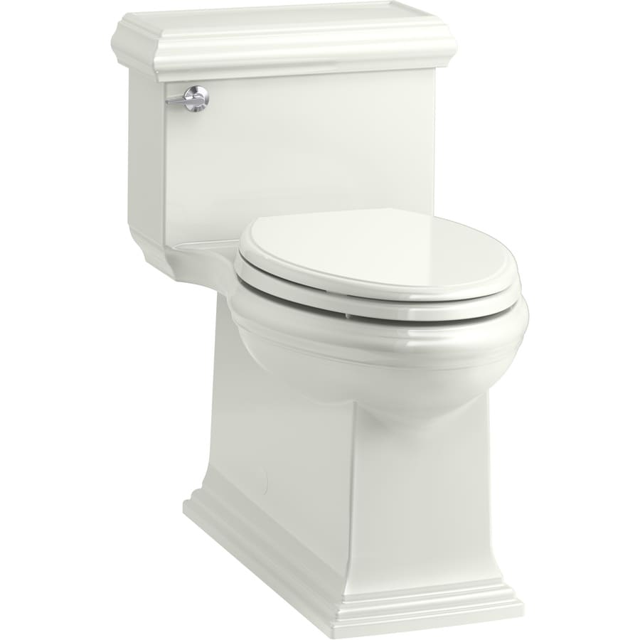 KOHLER Memoirs Dune WaterSense Labeled  Compact Elongated Chair Height 1-piece Toilet 12-in Rough-In Size