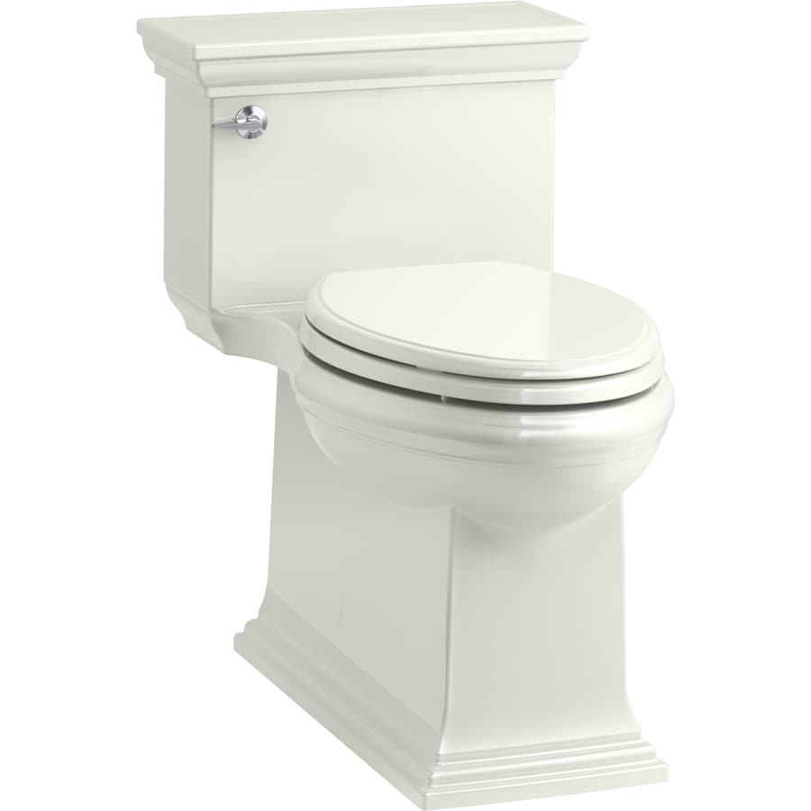 KOHLER Memoirs 1.28-GPF (4.85-LPF) Dune Compact Elongated Chair Height 1-piece Toilet