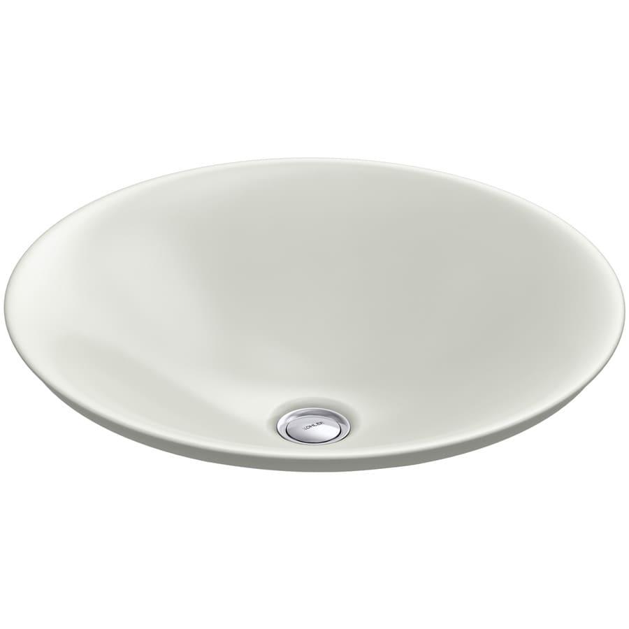 Shop KOHLER Carillon Dune Vessel Rectangular Bathroom Sink