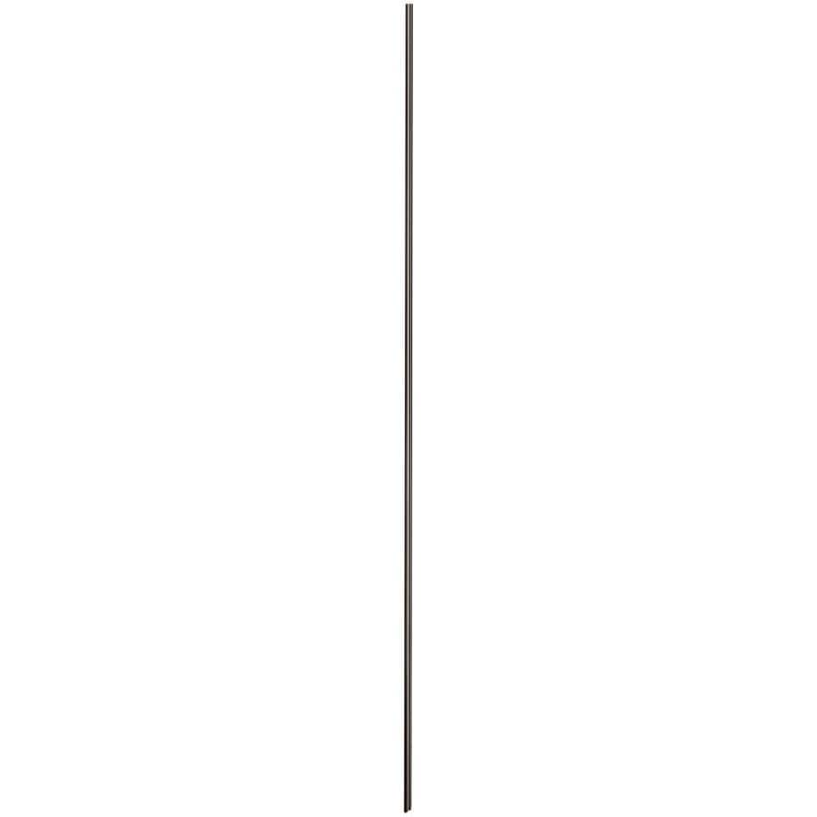KOHLER Choreograph Anodized Dark Bronze Shower Wall Surround Side Panel (Common: 0.25-in x .1875-in; Actual: 96-in x 0.25-in x 0.1875-in)