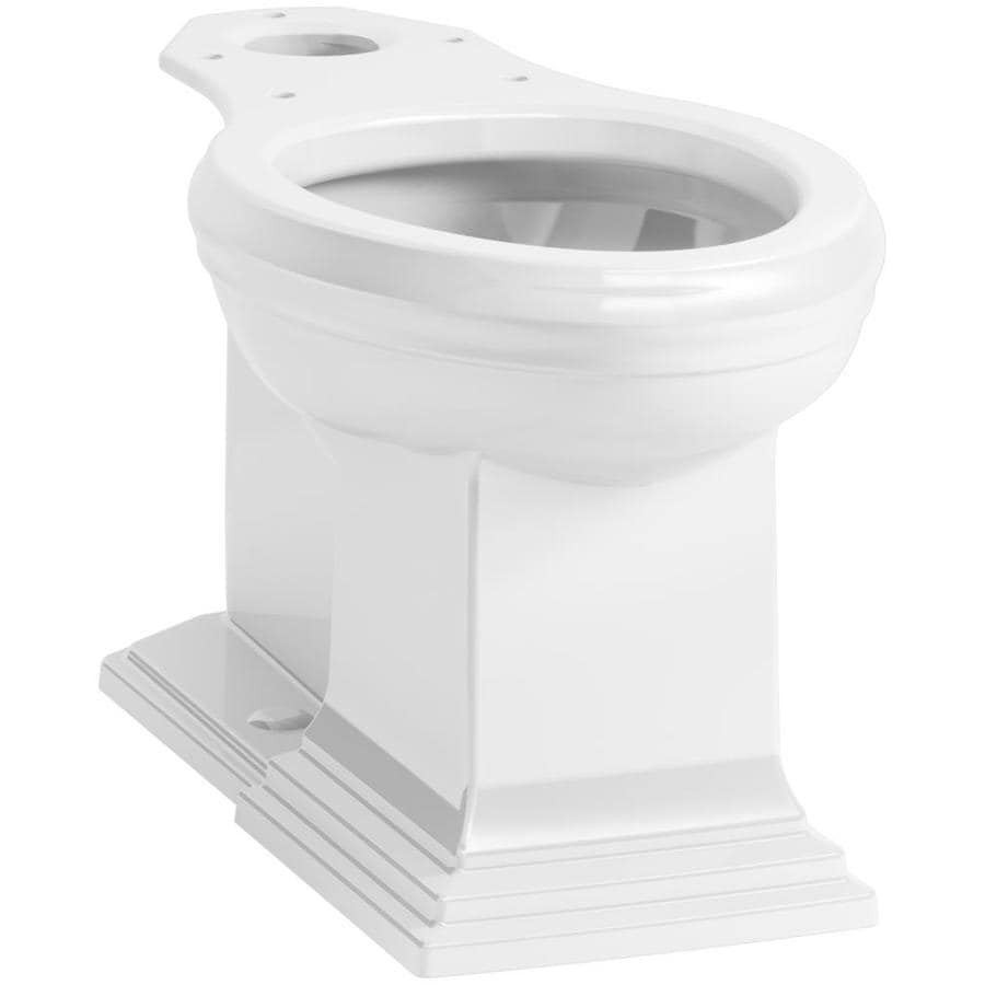 KOHLER Memoirs Chair Height White 12 Rough-In Elongated Toilet Bowl