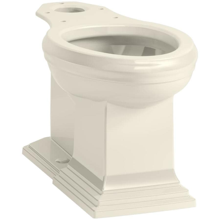 KOHLER Memoirs Almond Elongated Chair Height Toilet Bowl