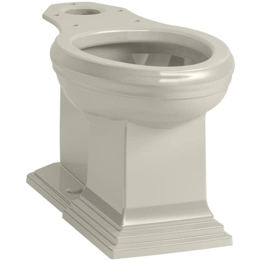 KOHLER Memoris Sandbar Elongated Height Toilet Bowl