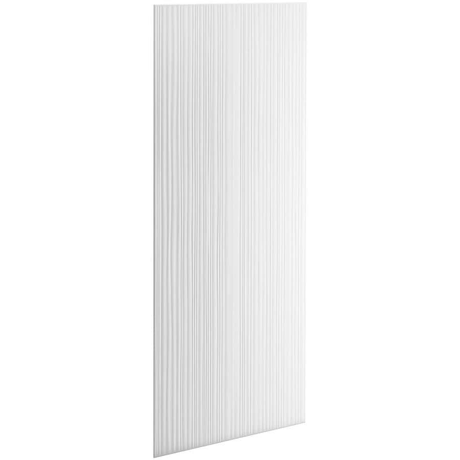 KOHLER Choreograph White Shower Wall Surround Side and Back Panels (Common: 36-in x .1875-in; Actual: 96-in x 36-in x 0.1875-in)