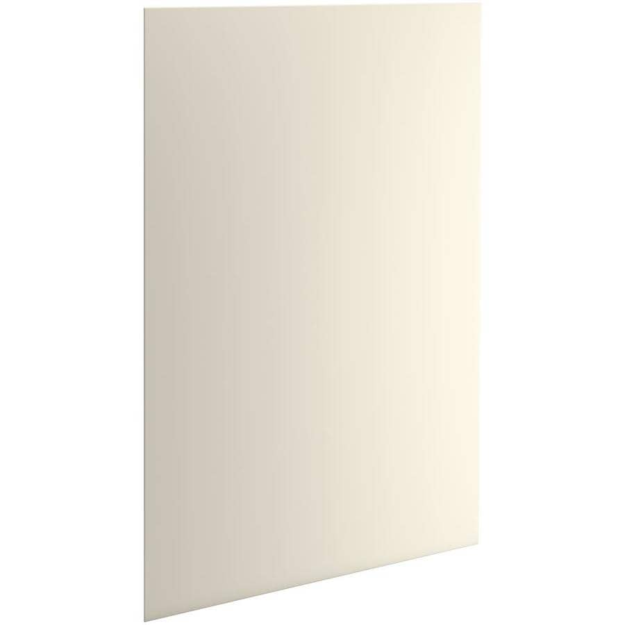 KOHLER Choreograph Almond Shower Wall Surround Side and Back Panels (Common: 60-in x .1875-in; Actual: 96-in x 60-in x 0.1875-in)