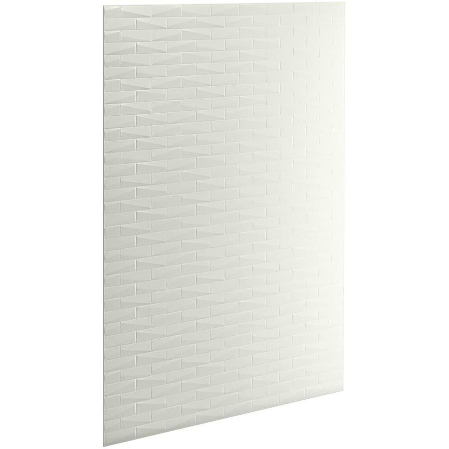 KOHLER Choreograph Dune Shower Wall Surround Side and Back Panels (Common: 60-in x .1875-in; Actual: 96-in x 60-in x 0.1875-in)