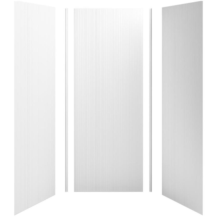 KOHLER Choreograph White Shower Wall Surround Side and Back Panels (Common: 36-in x 36-in; Actual: 96-in x 36-in x 36-in)