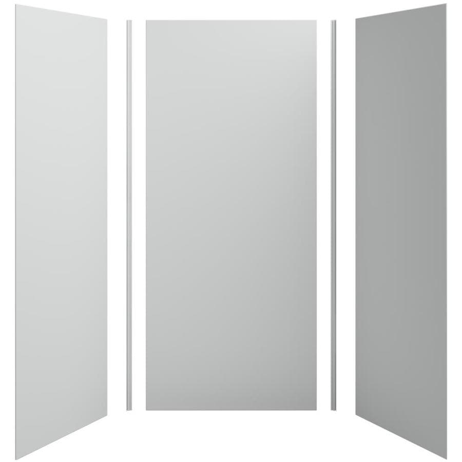 KOHLER Choreograph Ice Grey Shower Wall Surround Side and Back Panels (Common: 42-in x 36-in; Actual: 96-in x 42-in x 36-in)