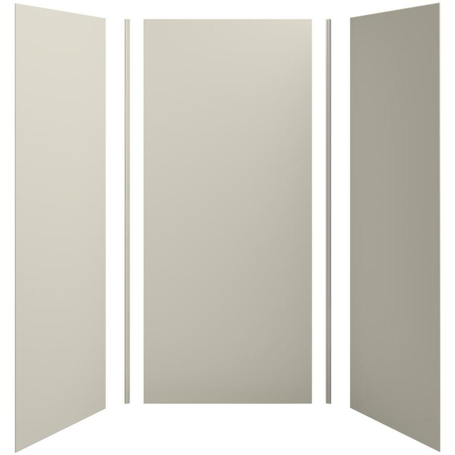 KOHLER Choreograph Sandbar Shower Wall Surround Side and Back Panels (Common: 42-in x 36-in; Actual: 96-in x 42-in x 36-in)