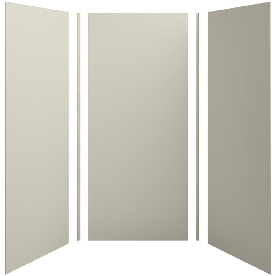 KOHLER Choreograph Sandbar Shower Wall Surround Side and Back Panels (Common: 42-in x 42-in; Actual: 96-in x 42-in x 42-in)