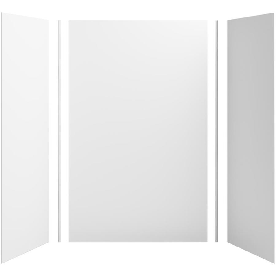 KOHLER Choreograph White Shower Wall Surround Side and Back Panels (Common: 60-in x 32-in; Actual: 96-in x 60-in x 32-in)