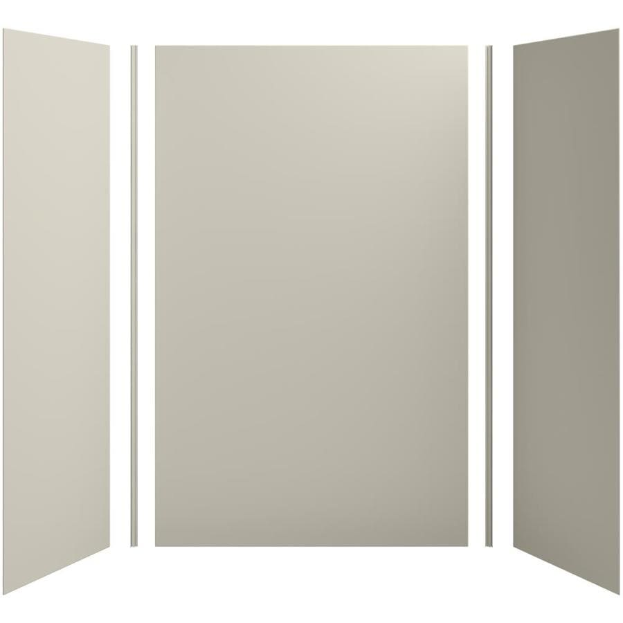 KOHLER Choreograph Sandbar Shower Wall Surround Side and Back Panels (Common: 60-in x 32-in; Actual: 96-in x 60-in x 32-in)