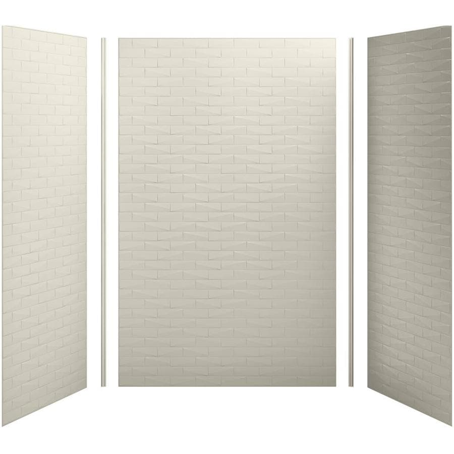 KOHLER Choreograph Sandbar Shower Wall Surround Side and Back Panels (Common: 60-in x 36-in; Actual: 96-in x 60-in x 36-in)