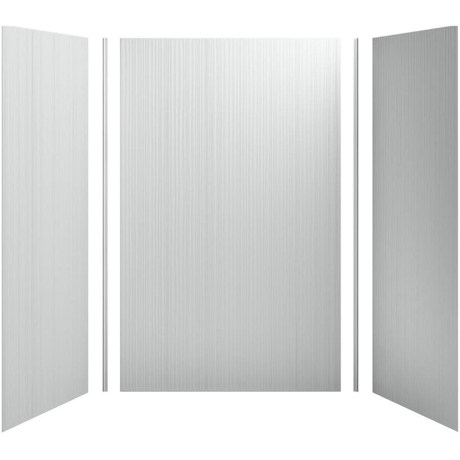 KOHLER Choreograph Ice Grey Shower Wall Surround Side and Back Panels (Common: 60-in x 36-in; Actual: 96-in x 60-in x 36-in)