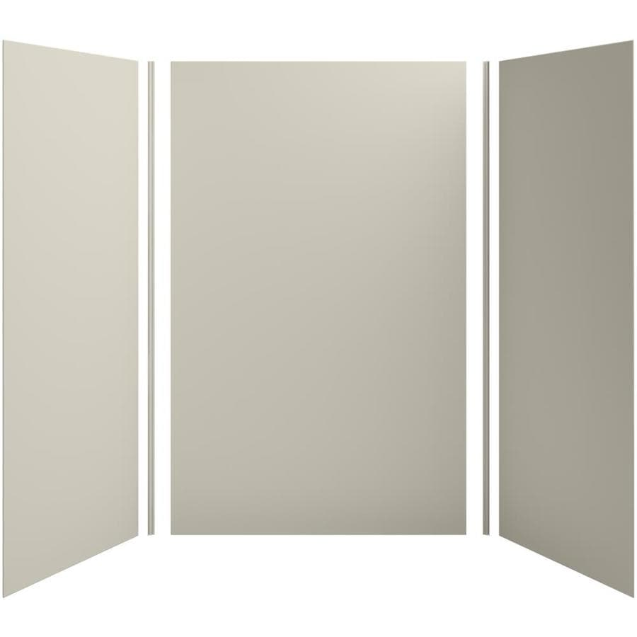 KOHLER Choreograph Sandbar Shower Wall Surround Side and Back Panels (Common: 60-in x 42-in; Actual: 96-in x 60-in x 42-in)
