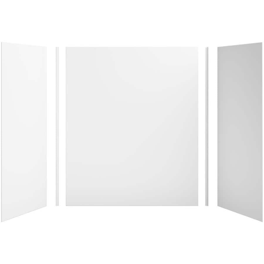 KOHLER Choreograph White Shower Wall Surround Side and Back Panels (Common: 60-in x 32-in; Actual: 72-in x 60-in x 32-in)