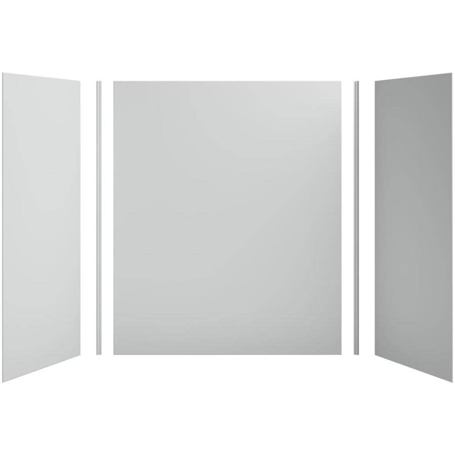 KOHLER Choreograph Ice Grey Shower Wall Surround Side and Back Panels (Common: 60-in x 32-in; Actual: 72-in x 60-in x 32-in)