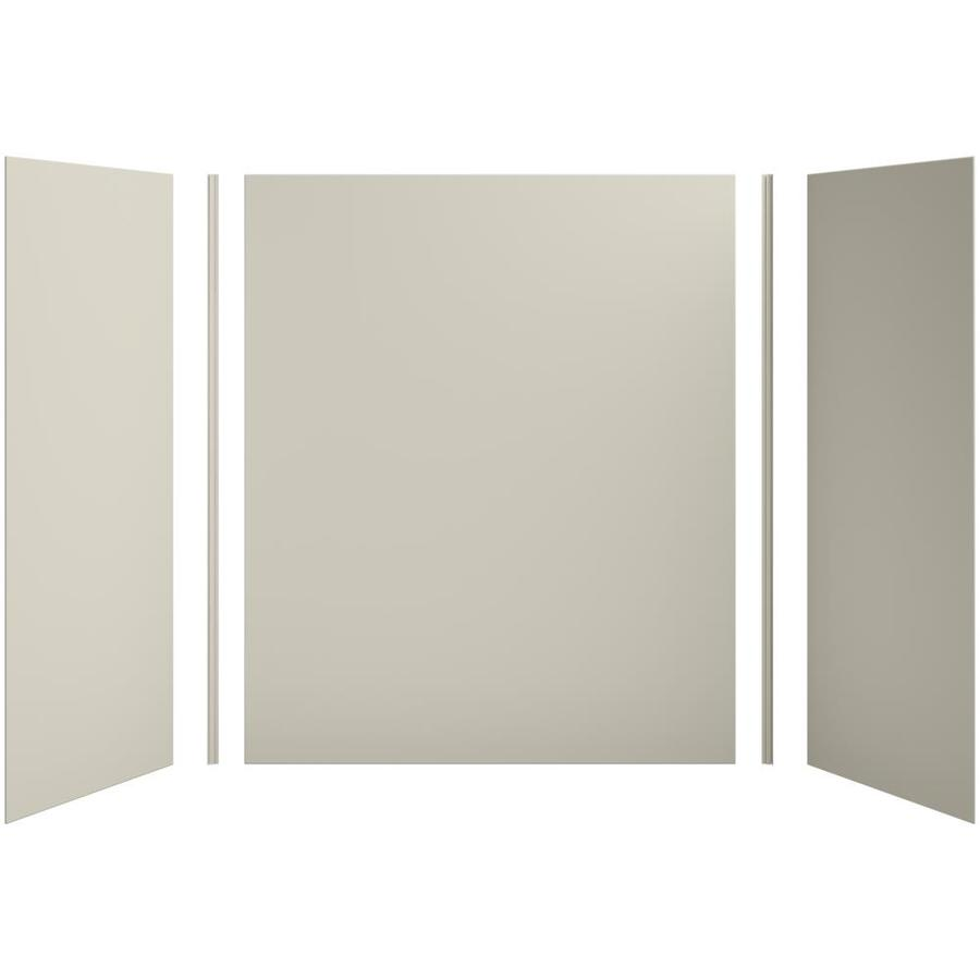 KOHLER Choreograph Sandbar Shower Wall Surround Side and Back Panels (Common: 60-in x 32-in; Actual: 72-in x 60-in x 32-in)
