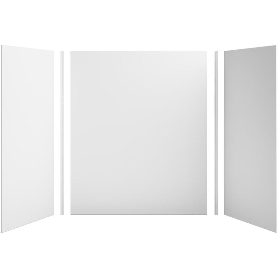 KOHLER Choreograph White Shower Wall Surround Side and Back Panels (Common: 60-in x 36-in; Actual: 72.0000-in x 60.0000-in x 36.0000-in)