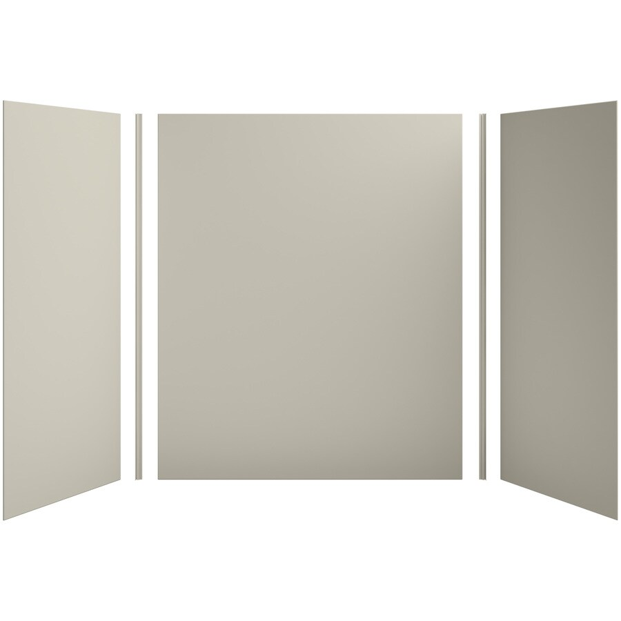 KOHLER Choreograph Sandbar Shower Wall Surround Side and Back Panels (Common: 60-in x 36-in; Actual: 72-in x 60-in x 36-in)