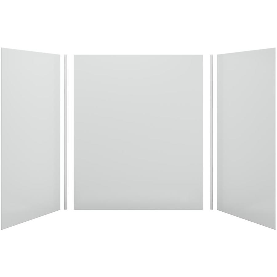 KOHLER Choreograph Ice Grey Shower Wall Surround Side and Back Panels (Common: 60-in x 42-in; Actual: 72-in x 60-in x 42-in)