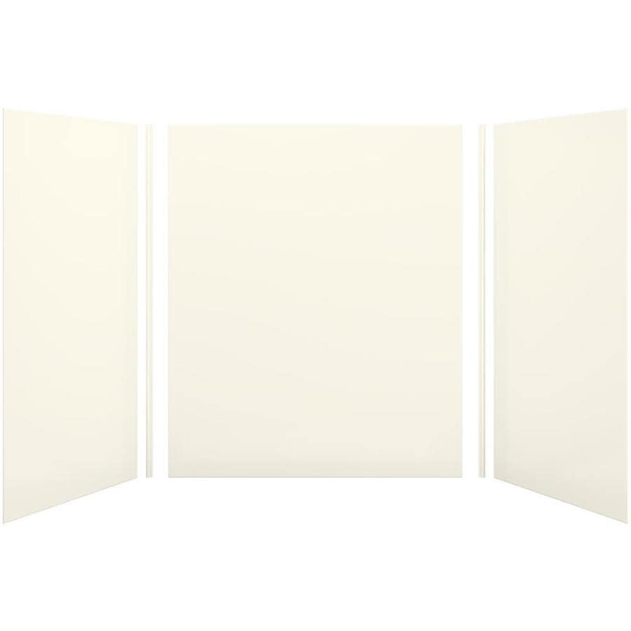 KOHLER Choreograph Biscuit Shower Wall Surround Side and Back Panels (Common: 60-in x 42-in; Actual: 72-in x 60-in x 42-in)