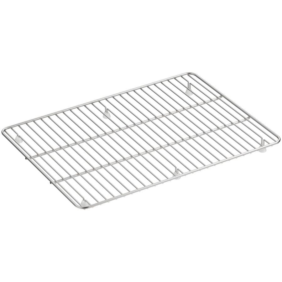 KOHLER Cairn 14-in x 13.75-in Sink Grid
