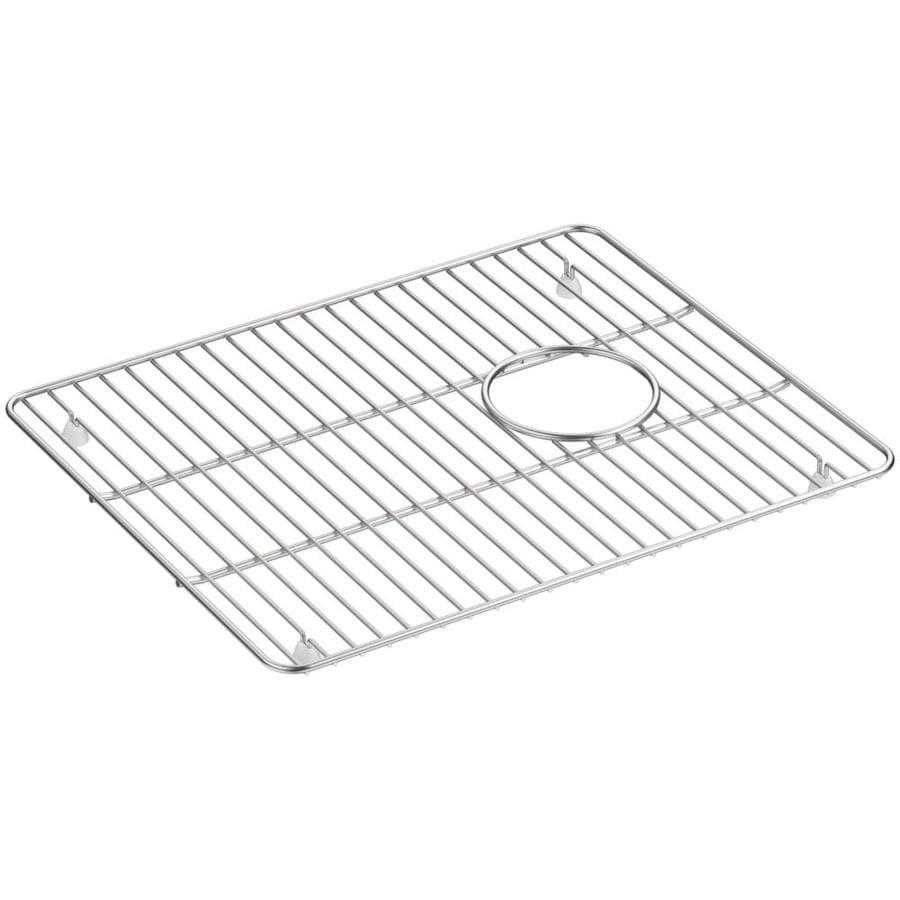 KOHLER Cairn 14-in x 17.25-in Sink Grid