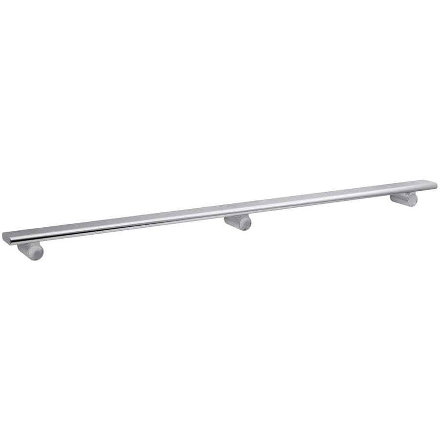 KOHLER Choreograph Bright Polished Silver Shower Wall Shelf