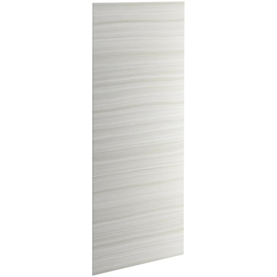 KOHLER Choreograph Veincut Dune Shower Wall Surround Side and Back Panels (Common: 36-in x .1875-in; Actual: 96-in x 36-in x 0.1875-in)