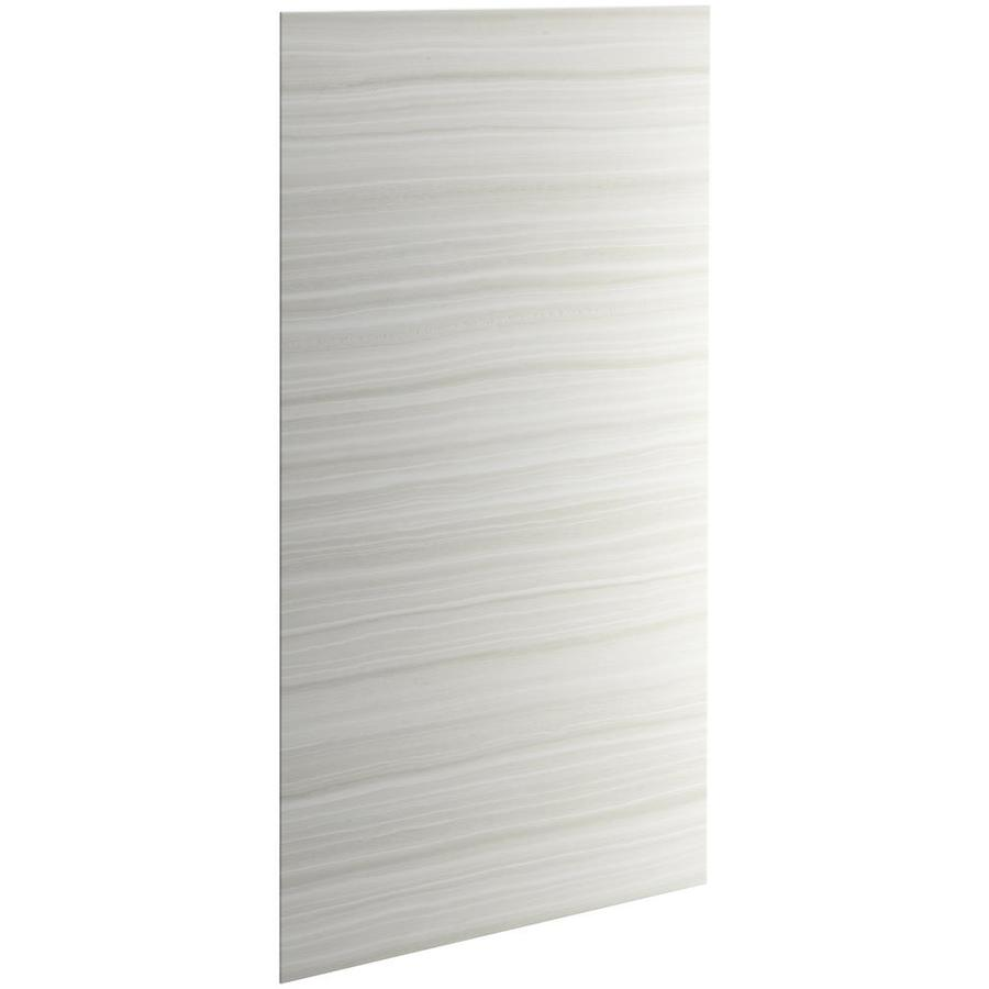 KOHLER Choreograph Veincut Dune Shower Wall Surround Side and Back Panels (Common: 48-in x .1875-in; Actual: 96-in x 48-in x 0.1875-in)