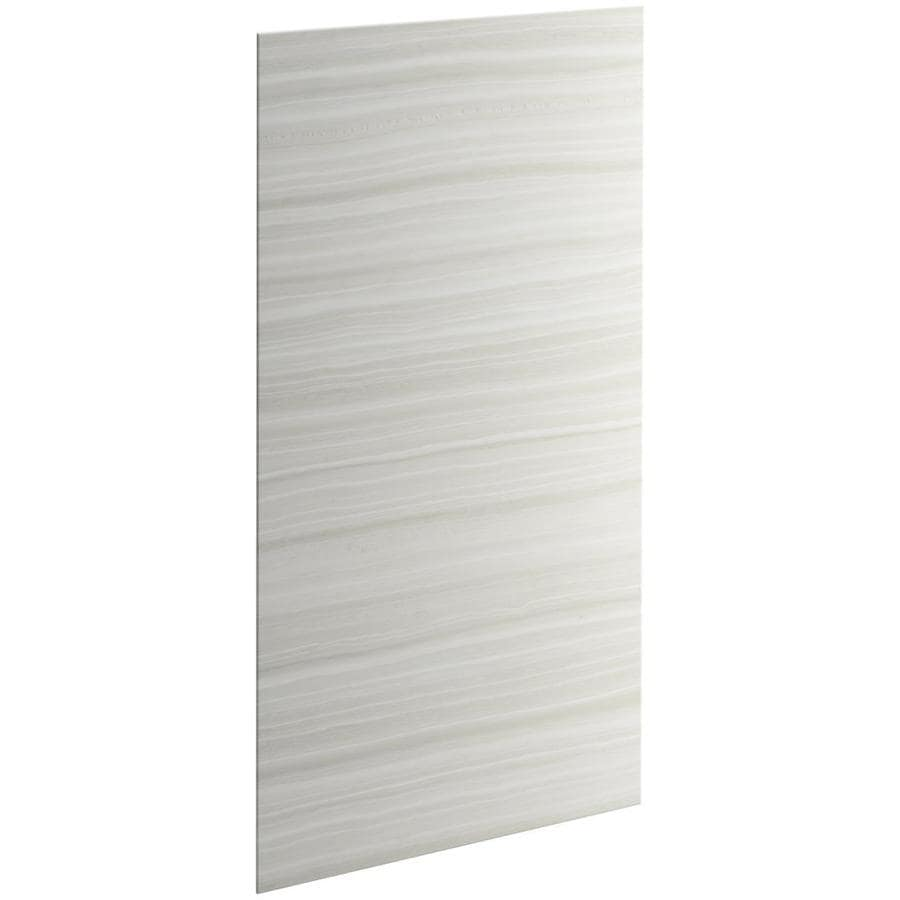 KOHLER Choreograph Veincut Dune Shower Wall Surround Side Panel (Common: 32-in x .1875-in; Actual: 72-in x 32-in x 0.1875-in)