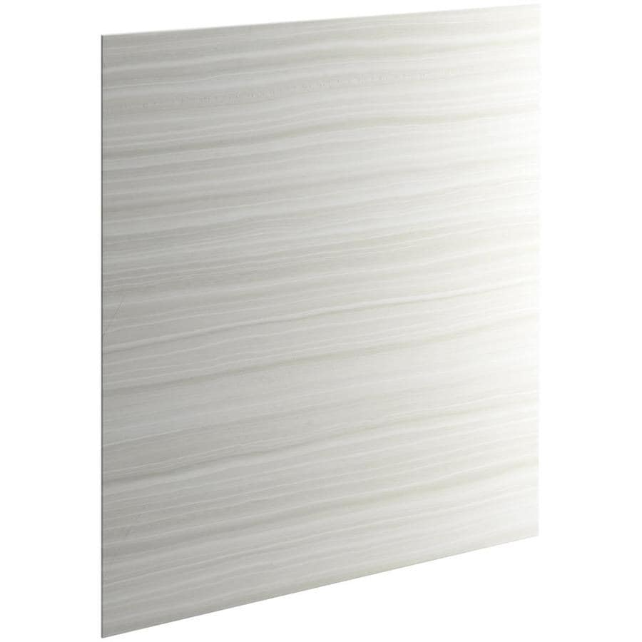 KOHLER Choreograph Veincut Dune Shower Wall Surround Side and Back Panels (Common: 60-in x .1875-in; Actual: 72-in x 60-in x 0.1875-in)