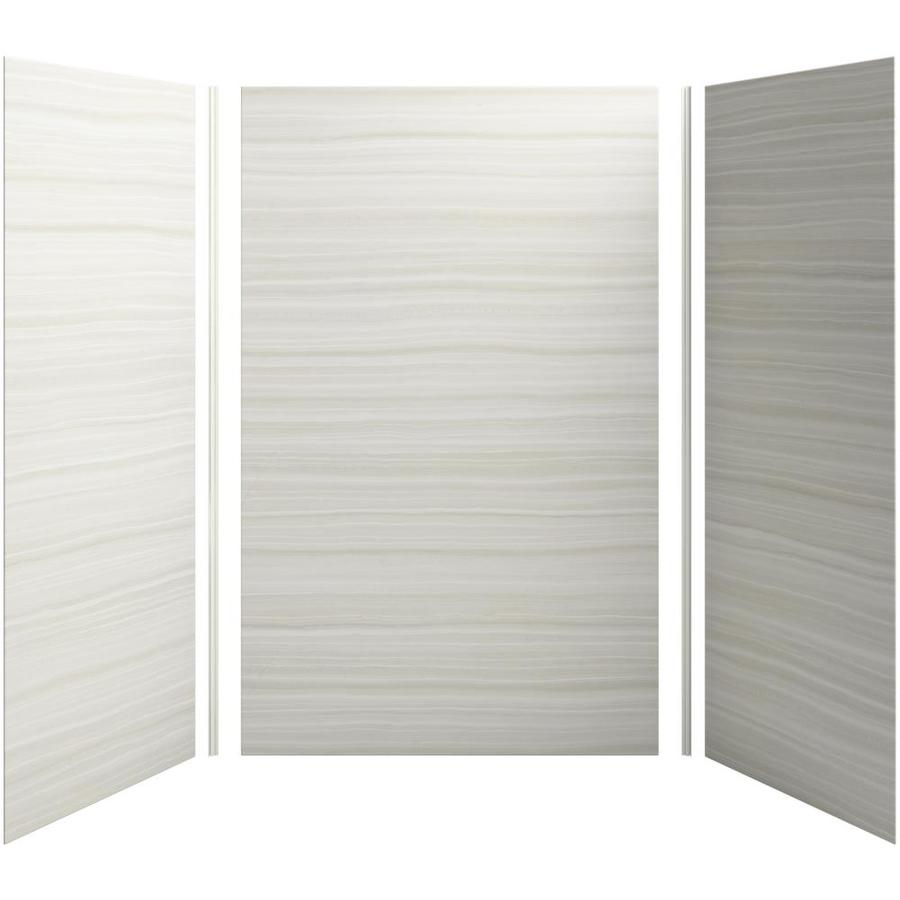 KOHLER Choreograph Veincut Dune Shower Wall Surround Side and Back Panels (Common: 60-in x 42-in; Actual: 96-in x 60-in x 40-in)