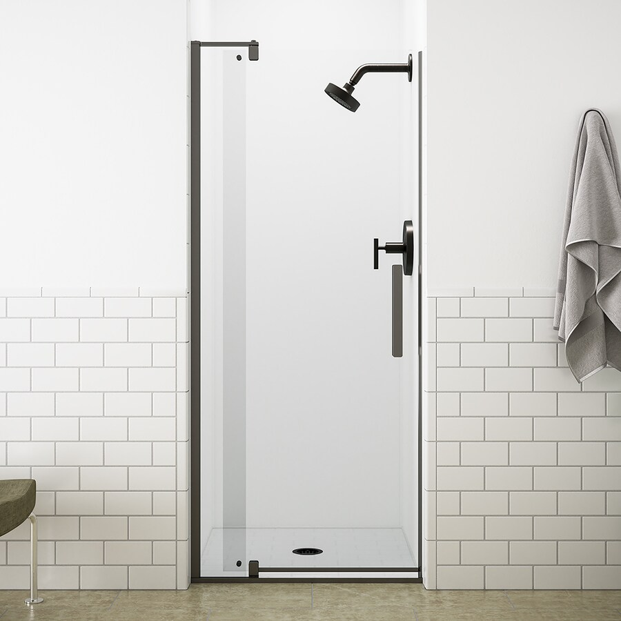KOHLER Revel 27.3125-in to 31.125-in Frameless Pivot Shower Door
