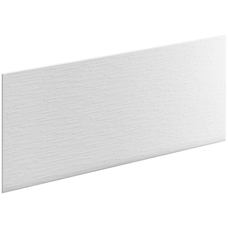 KOHLER Choreograph White Shower Wall Surround Side and Back Panels (Common: 60-in x .1875-in; Actual: 28-in x 60-in x 0.1875-in)