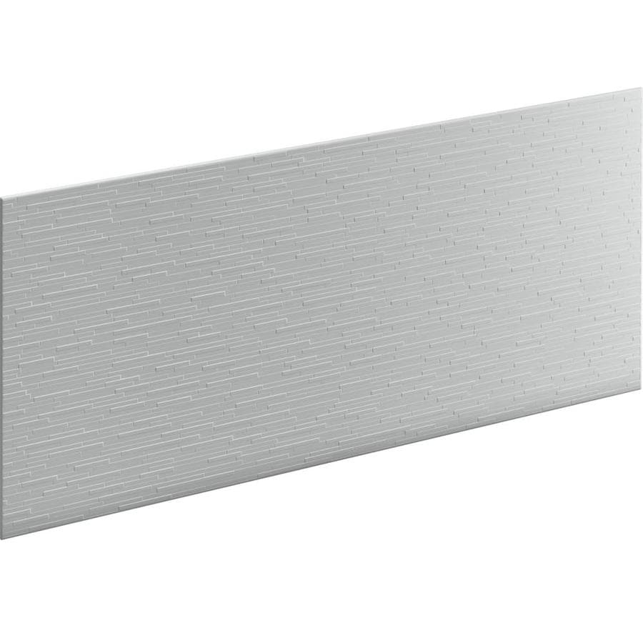 KOHLER Choreograph Ice Grey Shower Wall Surround Side Panel (Common: 60-in x .1875-in; Actual: 28-in x 60-in x 0.1875-in)