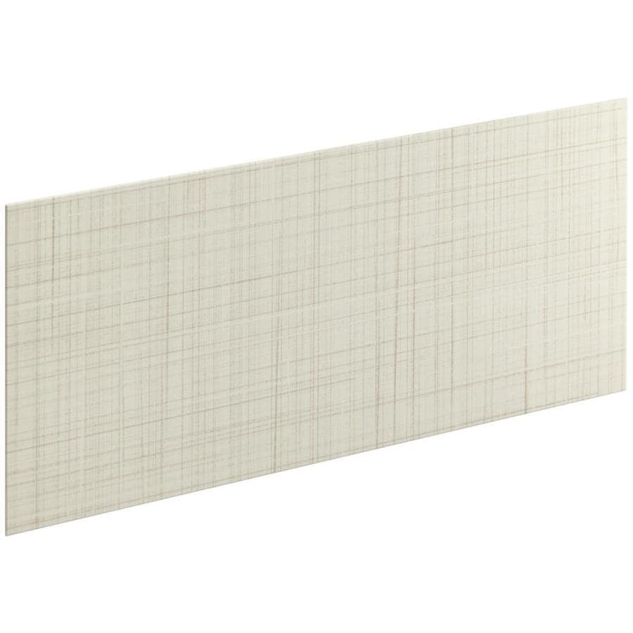 KOHLER Choreograph Biscuit Shower Wall Surround Side and Back Panels (Common: 60-in x .1875-in; Actual: 28-in x 60-in x 0.1875-in)