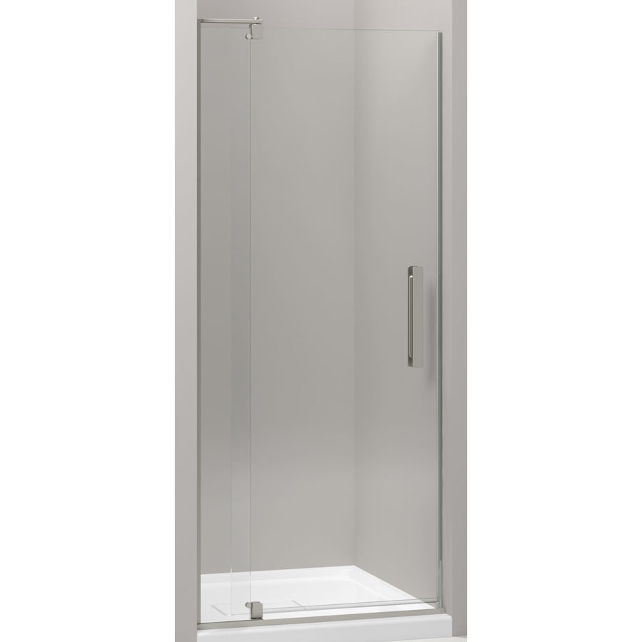 Kohler Revel 27 3125 In To 31 125 In W Frameless Anodized