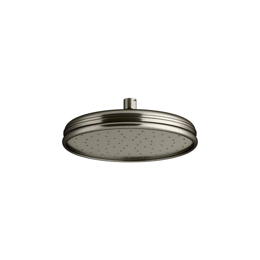 Shop KOHLER Vintage Nickel 1-Spray Rain at Lowes.com