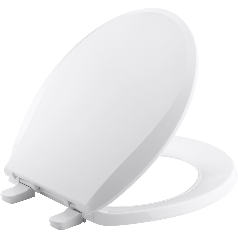 Kohler Cachet Plastic Round Toilet Seat At Lowes Com